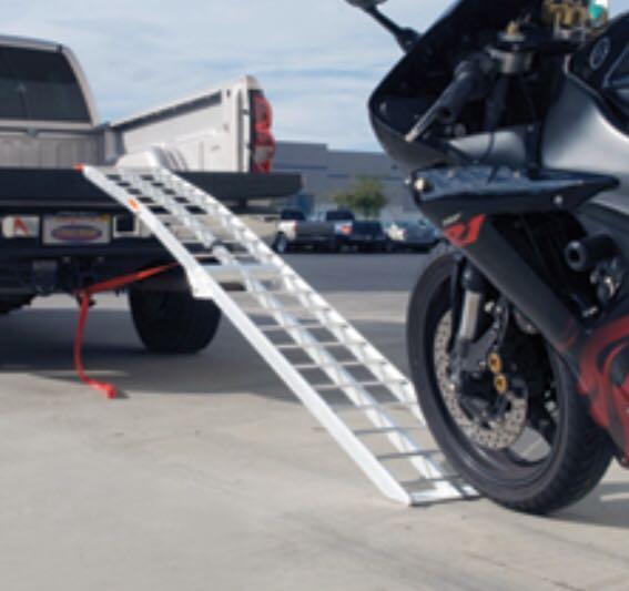 Motorcycle Loading Ramp >> 2 3m Folding Motorcycle Loading Ramp Trade West